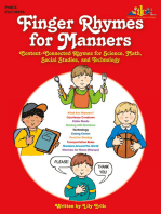 Finger Rhymes for Manners
