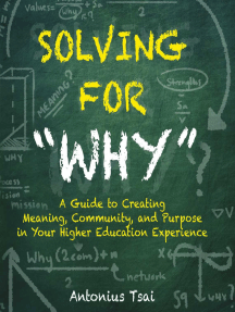 "Solving For ""Why"""