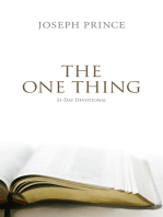 The One Thing–31-Day Devotional