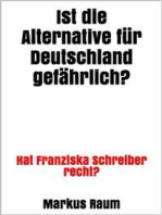 Ist die Alternative für Deutschland gefährlich?