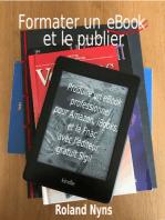 Formater un ebook et le publier