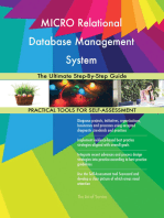 MICRO Relational Database Management System The Ultimate Step-By-Step Guide