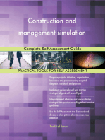 Construction and management simulation Complete Self-Assessment Guide