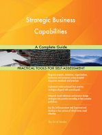 Strategic Business Capabilities A Complete Guide