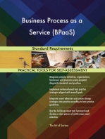 Business Process as a Service (BPaaS) Standard Requirements