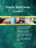 Oracle WebCenter Content Standard Requirements