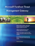 Microsoft Forefront Threat Management Gateway A Clear and Concise Reference