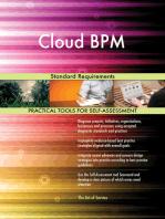 Cloud BPM Standard Requirements