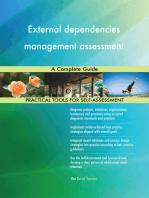 External dependencies management assessment A Complete Guide