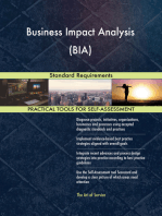 Business Impact Analysis (BIA) Standard Requirements