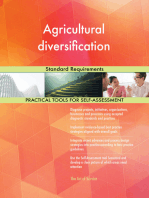 Agricultural diversification Standard Requirements