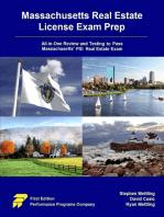Massachusetts Real Estate License Exam Prep