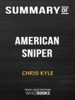 Summary of American Sniper
