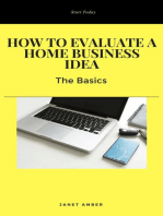 How to Evaluate a Home Business Idea