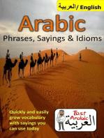 Arabic Phrases, Sayings & Idioms