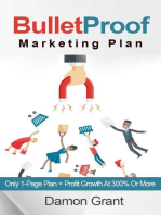 Bulletproof Marketing Plan. Only 1-Page Plan = Profit Growth At 300% Or More