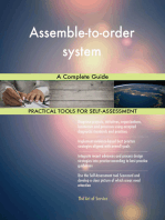 Assemble-to-order system A Complete Guide