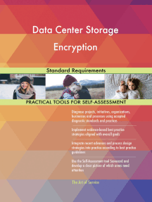 Data Center Storage Encryption Standard Requirements
