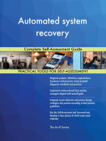 Automated system recovery Complete Self-Assessment Guide