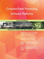 Complex-Event Processing Software Platforms Second Edition