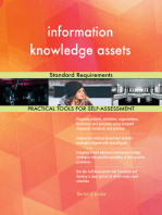 information knowledge assets Standard Requirements
