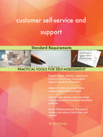 customer self-service and support Standard Requirements