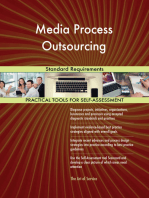 Media Process Outsourcing Standard Requirements