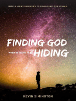 Finding God When He Seems To Be Hiding
