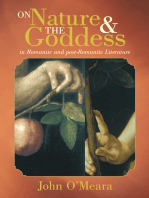 On Nature and the Goddess in Romantic and Post-Romantic Literature