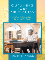 Outlining Your Bible Study