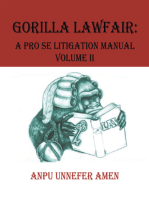 Gorilla Lawfair