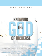 Knowing the God of Increase