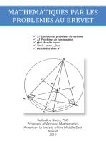 Mathematiques Par Les Problemes Au Brevet