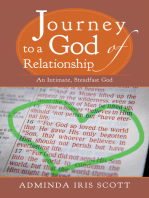 Journey to a God of Relationship