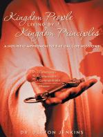 Kingdom People Living by Kingdom Principles
