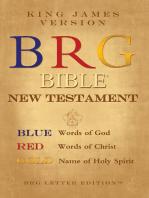 Brg Bible ® New Testament, King James Version