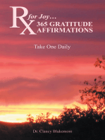 Rx for Joy…365 Gratitude Affirmations