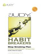 Dr. Judy'S Habit Breakers Stop Smoking Plan