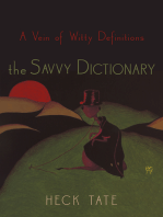 The Savvy Dictionary
