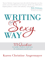 Writing the Sexy Way
