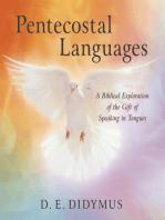 Pentecostal Languages