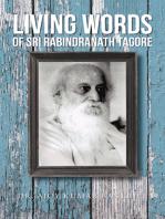 Living Words of Sri Rabindranath Tagore
