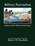 Military Paternalism, Labour, and the Rideau Canal Project