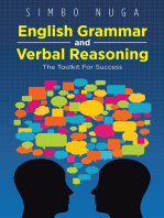 English Grammar and Verbal Reasoning: The Toolkit for Success