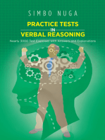 Practice Tests in Verbal Reasoning