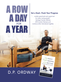 A Row a Day for a Year: Set a Goal—Track Your Progress
