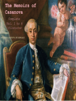 The Memoirs of Casanova, Complete - Vol.1 to 6 (Illustrated)