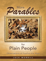 More Parables for Plain People