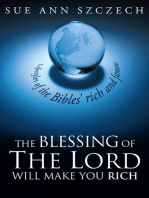 The Blessing of the Lord Will Make You Rich