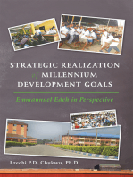 Strategic Realization of Millennium Development Goals